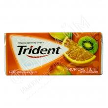 Жевательная резинка Trident Gum Tropical Twist, США
