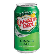 Canada Dry Ginger Ale, 0.335l, США