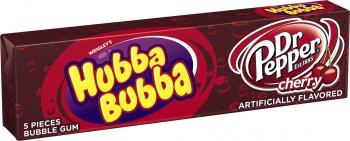 Жевательная резинка HUBBA BUBBA Gum DR. PEPPER, США
