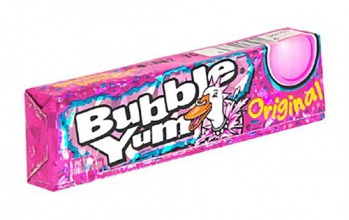 Жевательная резинка Bubble Yum Gum Original, США