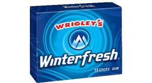 Жевательная резинка Wrigley Gum Winter Frash, США