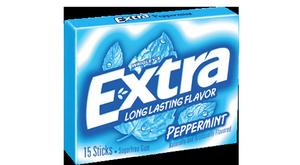 Жевательная резинка Wrigley Extra Gum Peppermint, США