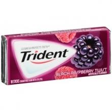 Жевательная резинка Trident Black Raspberry Twist, США