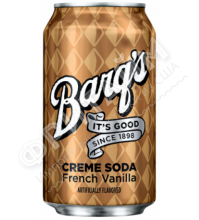 Bargs Cream Soda French Vanilla, 0.335л, США
