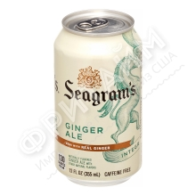 Seagrams Ginger Ale, 0355L, США