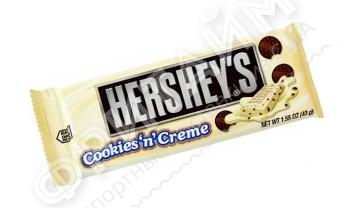 Белый шоколад с печеньем Hershey's, 43g, США