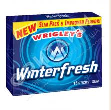 Жевательная резинка Wrigley Winterfresh Gum Slim, США